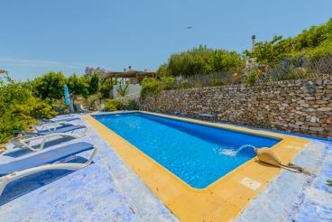 Pintoresca casa rural con WiFi y aire acondicionado en la provincia de Almería