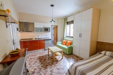 Strandnahes Apartment mit privater Terrasse für zwei Personen in Níjar