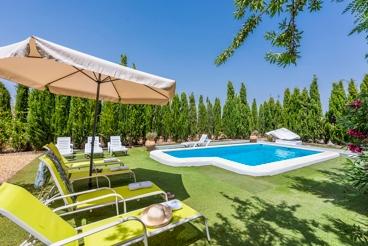 Gezellige villa met prachtige tuin