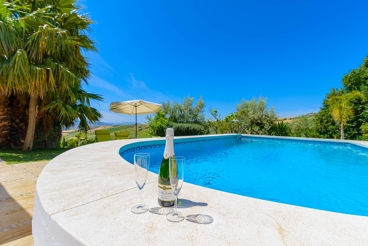 Cosy villa with magnificent views in Antequera