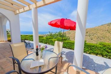 Coqueta casa de vacaciones con vistas asombrosas