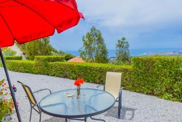 Villa gelegen op een heuveltop, met uitzicht op de Costa del Sol