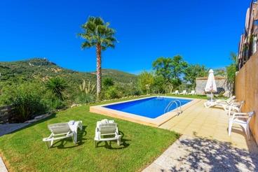 Landhaus-Finca für bis zu zwölf Personen in der Provinz Cádiz