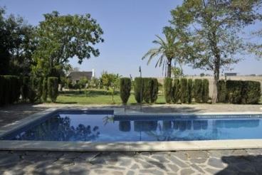 13-persoons vakantievilla met airco op het platteland van de provincie Sevilla
