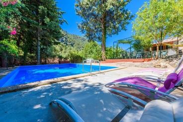 Rustieke villa met zwembad zonder inkijk in de buurt van het natuurpark van Cazorla