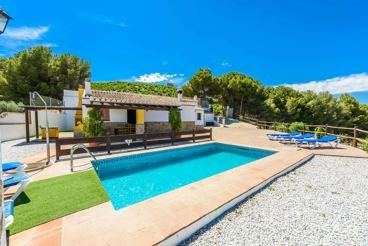 Gezellig Vakantiehuis met adembenemend uitzicht vlakbij Malaga