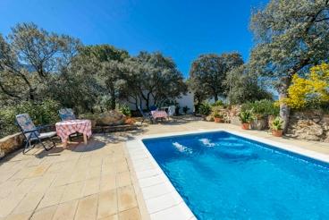 Casa rural con exterior de ensueño en la Sierra de Cadiz