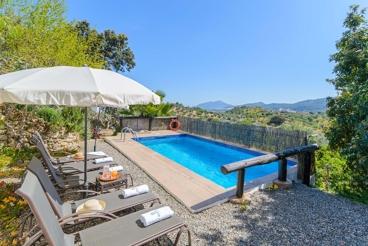Geweldig huis in het hart van de bergen van Malaga