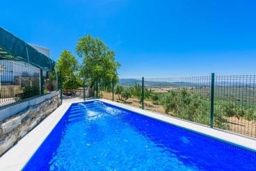 Ferienhaus auf dem Land in Andalusien mit tollem Blick in die Ferne