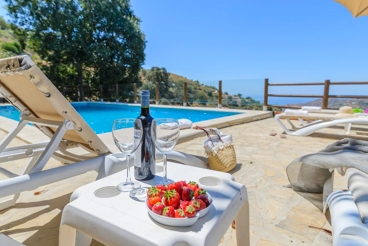 Fantastic holiday home with spectacular views in Cómpeta