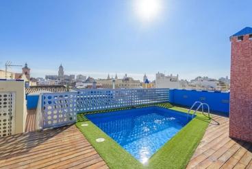 Indrukwekkende vakantie-appartement in het centrum van Malaga