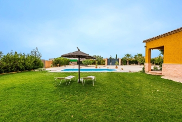 Spacious villa with children playground and huge patio