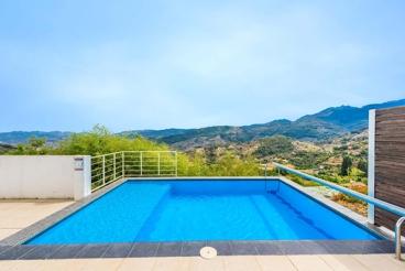 Modern-design villa with staggering views