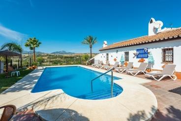Enorme villa in de buurt van Malaga, ideaal voor groepen