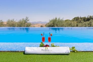 Charmant vakantiehuis  met panoramische uitzichten