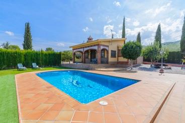 Homey villa with fenced garden in Granada province