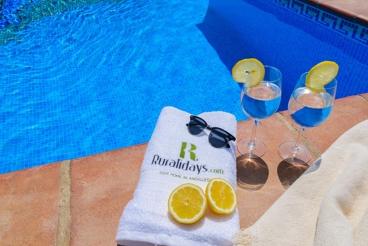 Villa in een ontspannen omgeving in de provincie Malaga