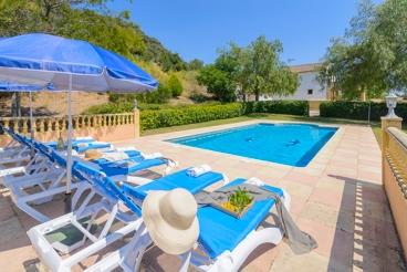 Maravillosa villa con impresionantes vistas cerca de Ronda