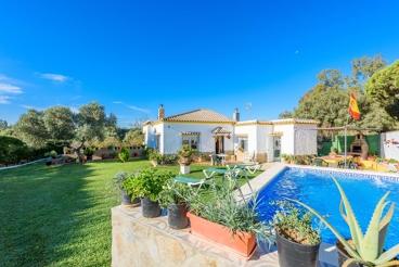Casa rural con jardín vallado en Vejer de la Frontera