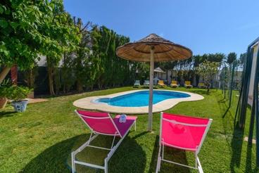 Coqueta casa de vacaciones para cuatro personas en la Costa de la Luz