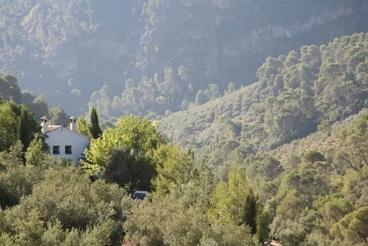 Casa rural para grupos en plena naturaleza en el norte de Andalucía