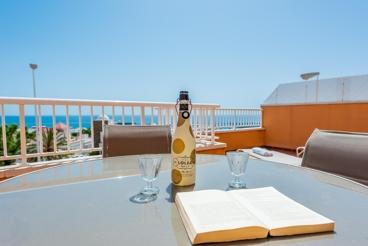 Apartamento para 5 personas con terraza privada en Mojácar