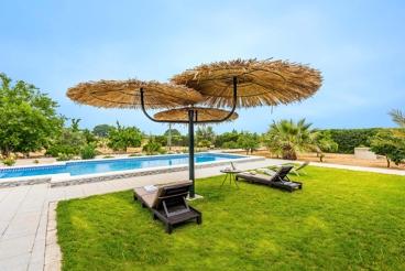 Casa de vacaciones en propiedad vallada con zona de chill-out cerca de Sevilla