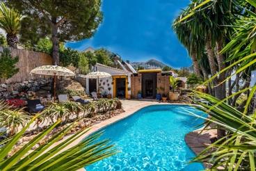 Casa de vacaciones con espléndida terraza panorámica para 10 personas
