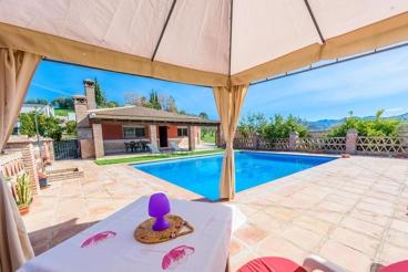 Casa de vacaciones para 6 personas con espléndidas vistas desde la terraza