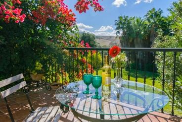 Ferienhaus mit Garten und Pool in Arcos de la Frontera, Costa de la Luz