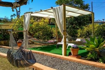 Acogedora casa de vacaciones con aire acondicionado y barbacoa