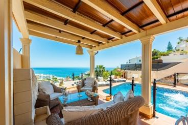 Asombrosa casa de vacaciones todo confort con chill-out en Nerja