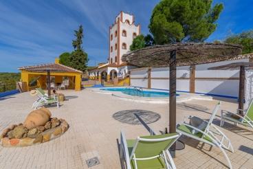 Massieve villa met alle comfort in het natuurpark Sierra de Hornachuelos