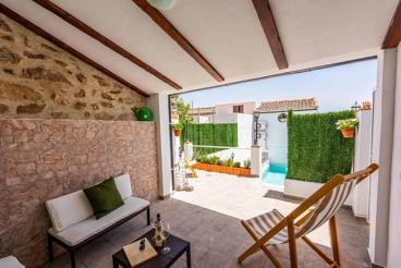 Casa de vacaciones con aire acondicionado en Cortes de la Frontera