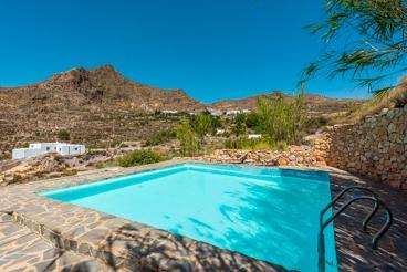 Ferienhaus mit Pool und Wifi in Níjar
