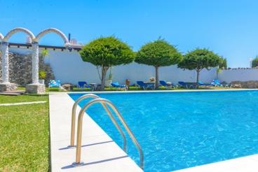 Estudio en amplio complejo con piscina compartida en Vejer de la Frontera