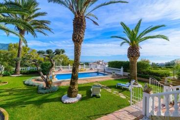 Prachtig vakantiehuis in de Serrania de Mijas met een charmante privé tuin