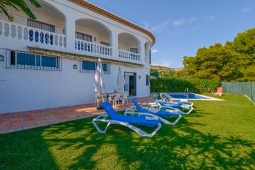 Casa rural todo confort con vistas espectaculares en Salobreña