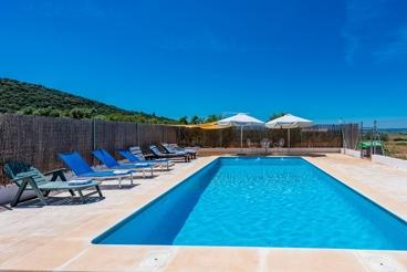 Ferienhaus mit eingezäuntem Privatpool in der Sierra de Cádiz