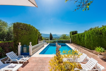 Ferienhaus mit rustikalem Charme und Garten in der Sierra de Cádiz