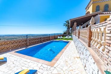 Prachtige vakantievilla in Mijas met adembenemend uitzicht