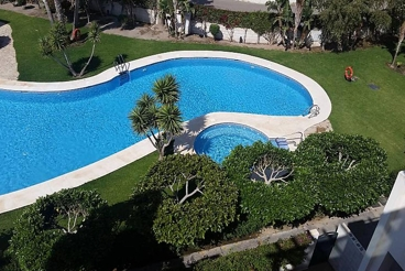 Apartamento con barbacoa y piscina en Vera