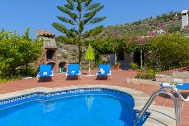 Casita para vacaciones relajantes en la provincia de Málaga
