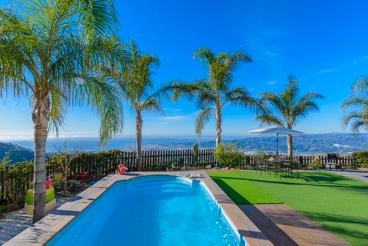 Gezellig vakantiehuis in de heuvels van de Costa del Sol