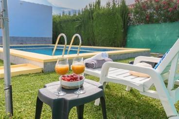Vakantiehuis met openhaard en barbecue in La Puebla de Cazalla