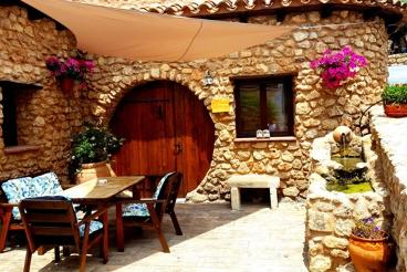 Ferienhaus mit Swimming Pool und Garten in Frailes