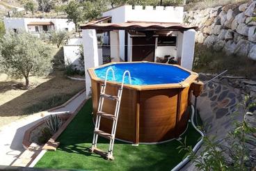 Casa Rural con piscina y wifi en Lubrín