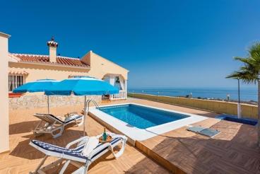 Holiday home with spectacular sea views near Vélez-Málaga