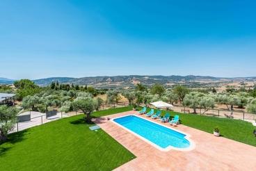 Casa de vacaciones con fabulosa zona exterior a 3 km de Ronda