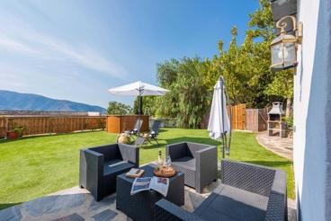 Casa de vacaciones con precioso jardín, perfecta para una escapada romántica